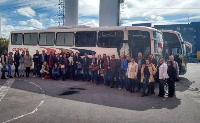 REPRESENTANTES DO SINDICATO TÊXTIL PARTICIPAM DA FRANCAL 2017