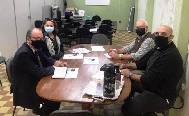 Reunião com representantes da SICOOB