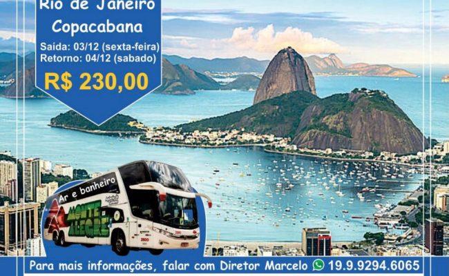 Excursão para o Rio de Janeiro