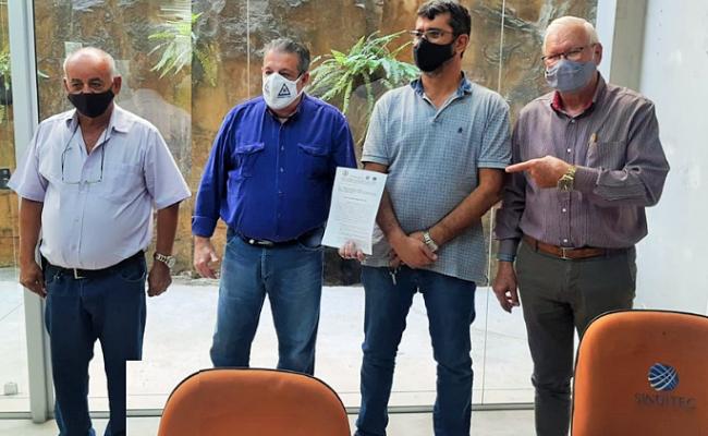 Sindicato têxtil protocola Pauta de Reivindicação de Renovação da Convenção Coletiva de Trabalho 2021/2022